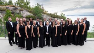 Elmer Iseler Singers, Festival of The Sound, July 2018 (Photo: Mark Rash)