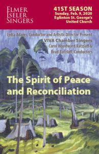 The Spirit of Peace and Reconciliation program cover