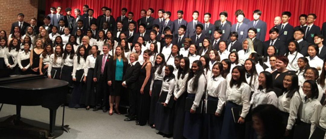 Agincourt Madrigal Singers with Lydia Adams